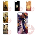 Phone Capa For Apple iPhone 4 4S 5 5C SE 6 6S 7 7S Plus 4.7 5.5 iPod Touch 4 5 6 I AM NOT THROWING AWAY MY SHOT HAMILTON QUOTES