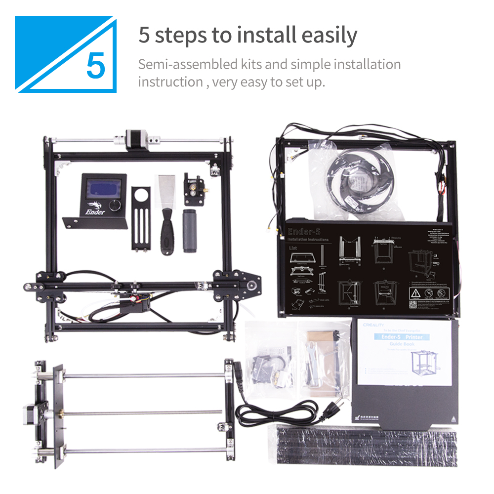 Ender-5 Large Size 3D Printer With Y-Axis Motor For Education Use