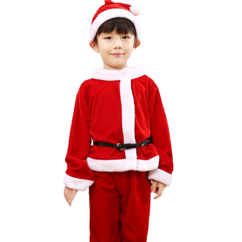 33d611a79cee 2 4 6 8 10 Years Christmas Costume Girls Santa Claus Red Dress With Cloak  Cosplay Children Clothing Girls Clothes Kids Clothes-in Dresses from Mother  & Kids ...