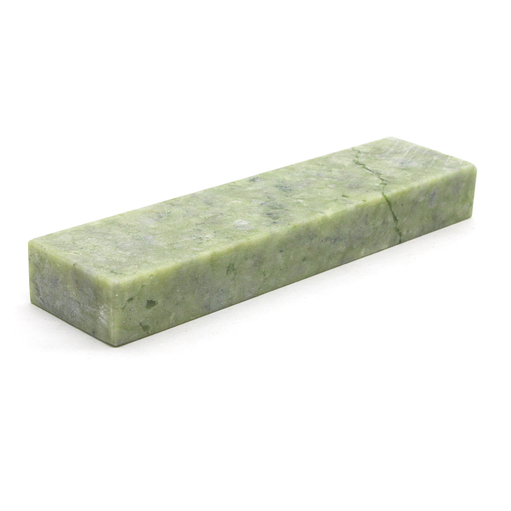 цена на Green sharpening stone Natural grindstone green stone for family kitchen tool, carpenter's chisel YS046