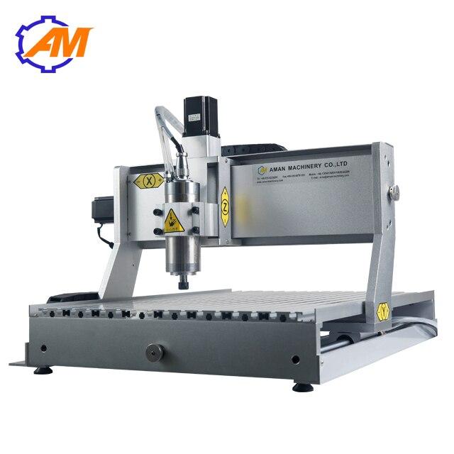 AM6040 800 Вт 3 осевой небольшой деревянный arcylic печатная плата Гравировальный фрезерный и режущий станок для продажи