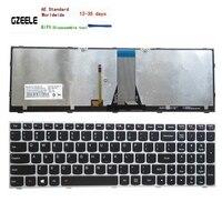 NOVO teclado DOS EUA PARA O LENOVO E51-80 Z50-70 Z50-70A Z50-75 Z50-80E Z51-70 Z51-70A E50-80 laptop EUA prata Backlit backlight