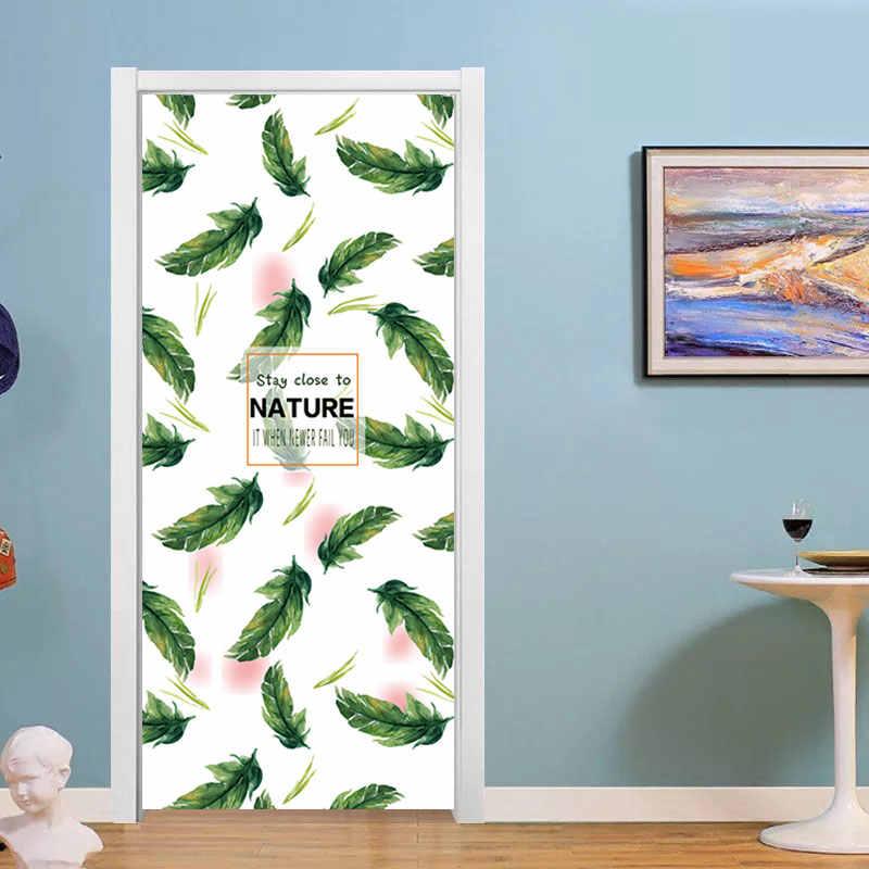90x200 см/77x200 см простые европейские двери наклейки для гостиной спальни Quee платье девушка наклейки ПВХ водонепроницаемый обновленный Декор Наклейка