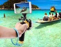 Float Shutter Stabilisator Abschnitt Pistole Trigger Set Schwimm Griff Für Go Pro Hero 5 4 3 + 3 Xiaomi Yi 4k SJCAM Zubehör