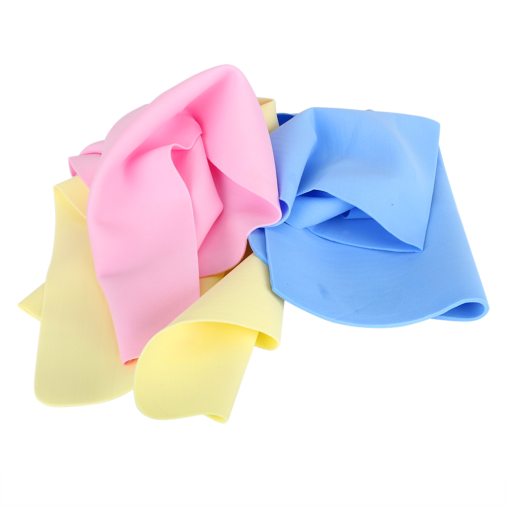 Cleaning Cloths Handkerchief Car Auto Care 39x29cm Synthetic Suede Soft Car Wash Towel  Car-styling Super Absorption