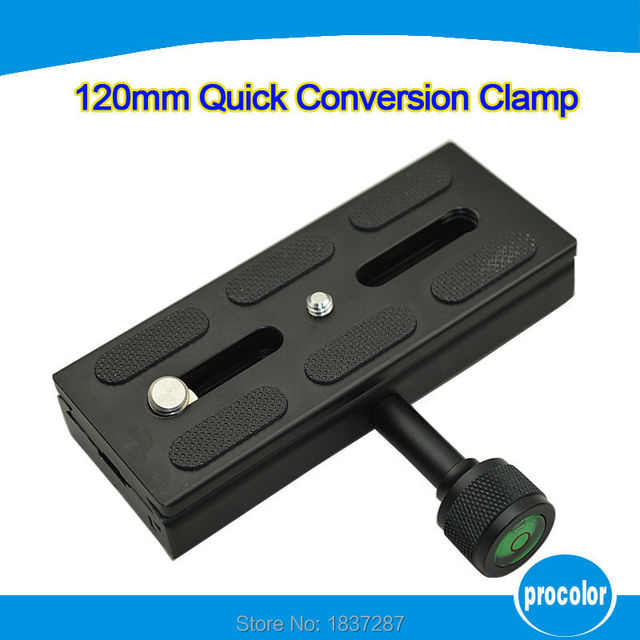 The new product QR120 fast clamping seat quickly convert General Block Macro board to send quick release plate