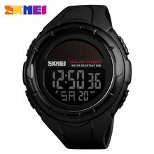 Skmei Fashion Olahraga Outdoor Watch 50 M Tahan Air Multifungsi LED Digital Watch Bisnis Jam Tangan Kasual Model Relogio(China)