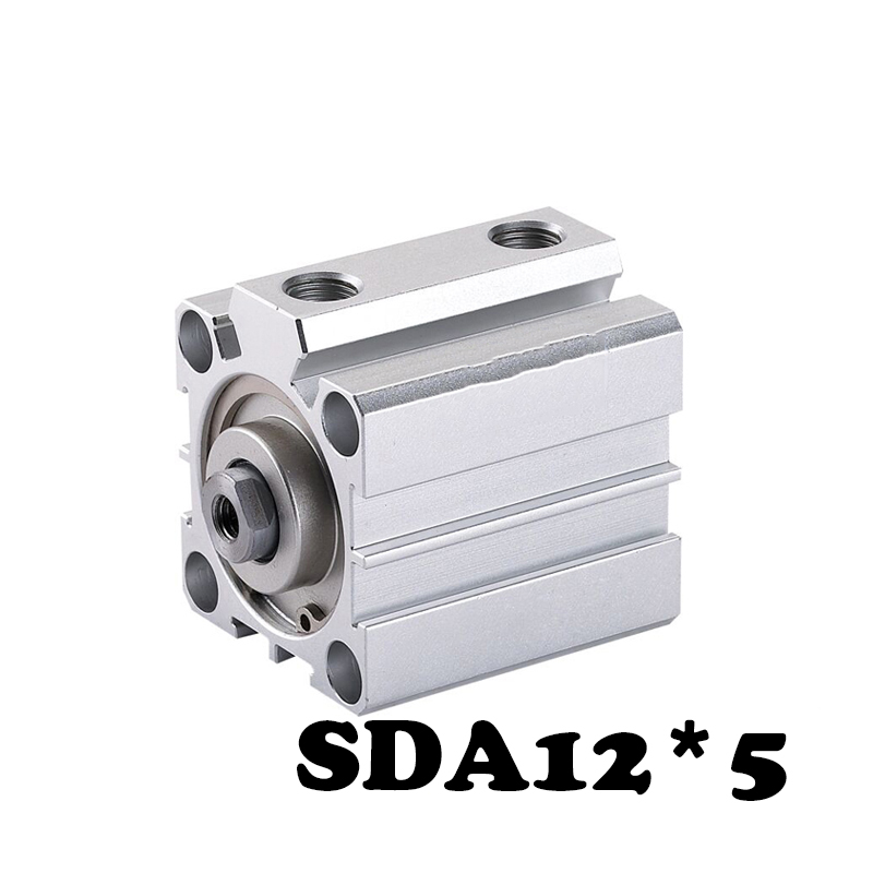 SDA 12*5 Standard cylinder thin Type Pneumatic Cylinder  Compact Thin Air