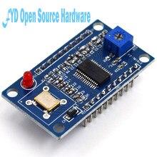 1 equipamento de teste do módulo 0-40mhz do gerador do sinal dos pces ad9850 dds