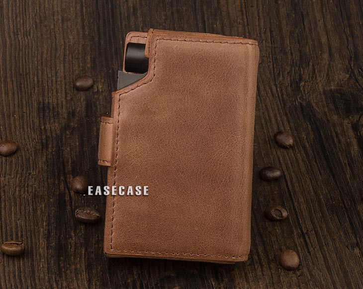 Image 3 - E4 Custom Made Genuine Leather case for HIFIMAN R2R2000-in Phone Pouches from Cellphones & Telecommunications