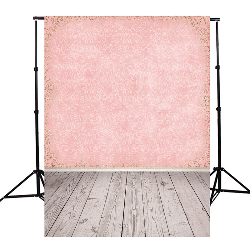 5X7ft Wall Board Floor Pink Vinyl Photography Background For Studio Photo Props Photographic Backdrops cloth 1.5x2.1m 3x5ft vinyl store board floor photography background for studio photo props photographic backdrops cloth 150cmx100cm