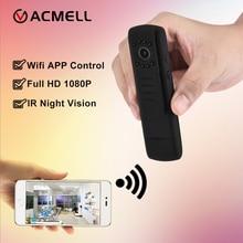 Wi-Fi мини Камера Full HD 1080 P H.264 камера ИК Ночное видение ручка Камера Mini DV DVR Камера цифровой голосовой видео Запись видеокамеры