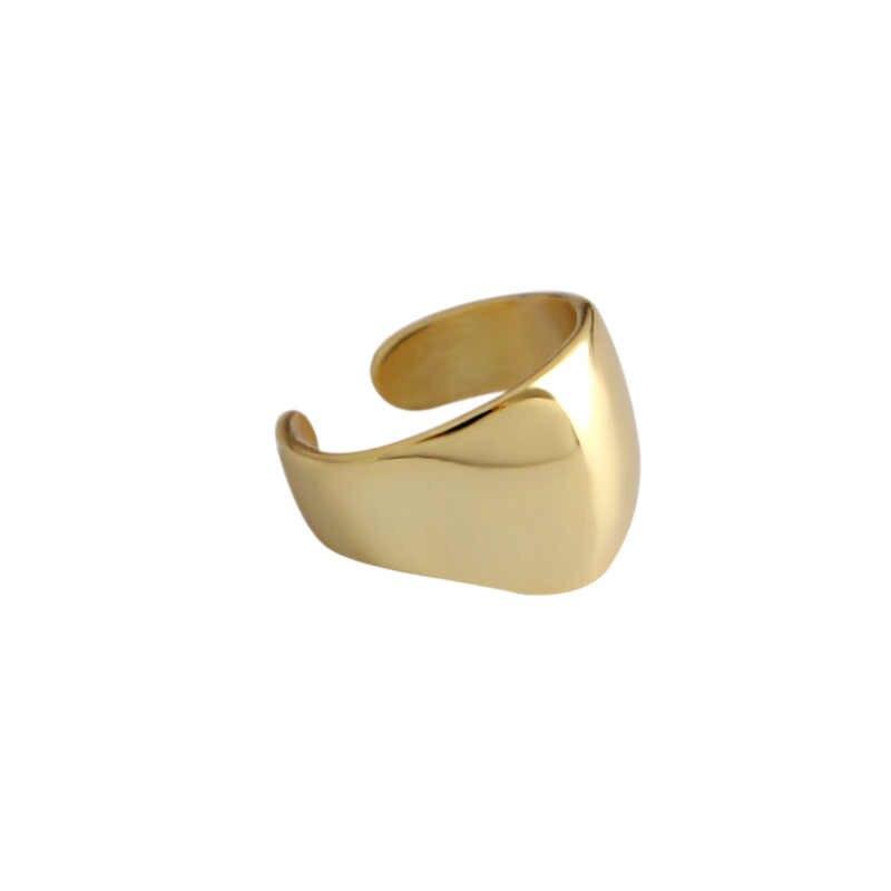 HFYK 2019 Thời Trang Vàng Clip Bông Tai Cho Phụ Nữ 925 Sterling Bạc Bông Tai Clip Trên bông tai Ngọc Trai Cuff Bông Tai Pendientes