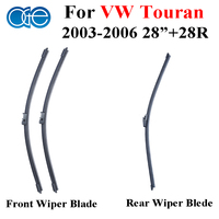 Wiper Blade For VW Touran 2003 2006 Front And Rear High Quality Silicone Rubber Window