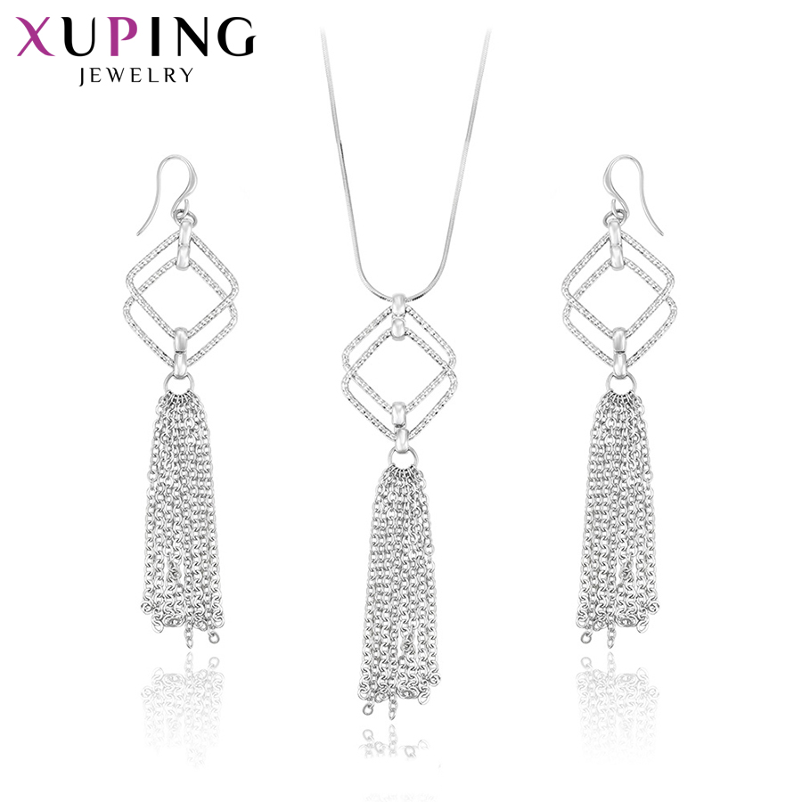 Jewelry Sets & More Responsible Xuping Elegant Party Temperament Jewelry Sets With Environmental Copper For Women Christmas Day Gift S72,2-63975 Back To Search Resultsjewelry & Accessories
