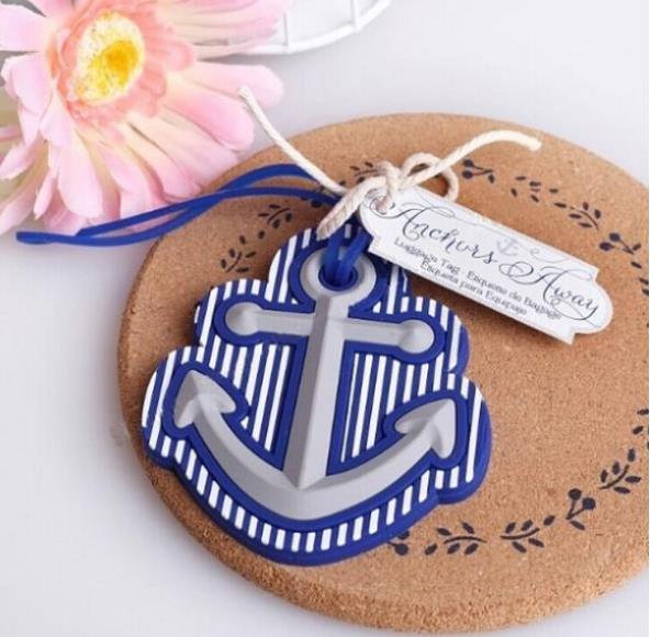 beach theme anchor luggage tag wedding bridal shower favor party gifts 10pcslot in party favors from home garden on aliexpresscom alibaba group