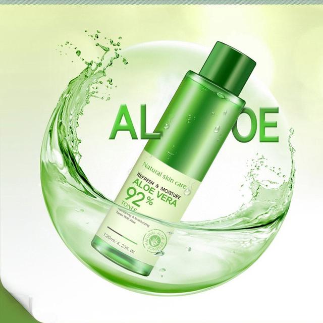 Skin Repairing Moisturizing Aloe Vera Smoothing Face Toner