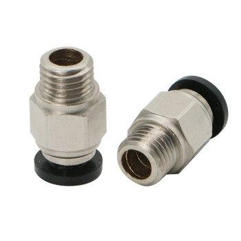 JGAURORA 2 шт./упак. пневматический соединитель M8 PT4mm для A5S 3D принтера