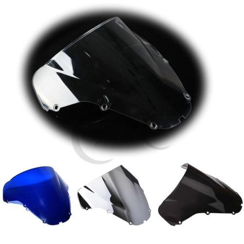 цена на NEW PMMA Double Bubble Windshield Windscreen for HONDA CBR 929 RR 900RR 00-01