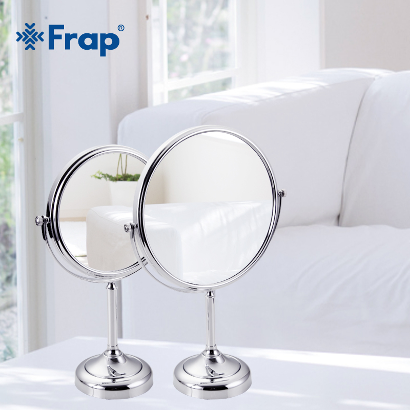Frap New Arrival Makeup Mirror Professional Vanity Mirror Bathroom Accessories 180 Rotating Free Magnifier F6206 F6208