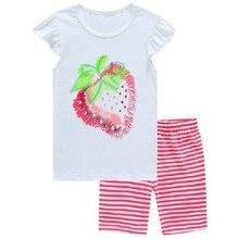 Купить с кэшбэком 2015 Summer Boys Pajamas Sets Short Sleeve T-Shirts Shorts Pants Sleepwear 100% Cotton Pijama Boy Pyjama Red Vehicle