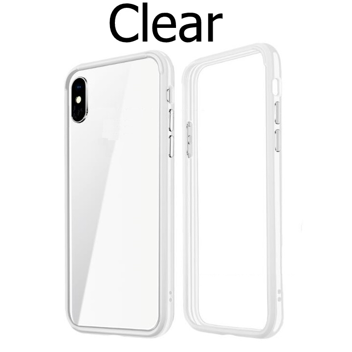 Hybrid Sold Phone Frame Silicon Cover For Iphone XR XSMAX XS MAX A2015 <font><b>A2018</b></font> A2101 A2104 Phone Protector Cases Protection image