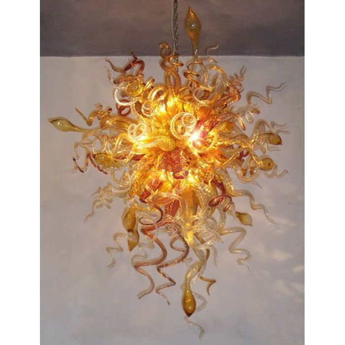 Longree Fancy Kitchen Egyptian Chandelier Modern Art Design Blown Glass AC 110V 120V 220V 240V Home Decoration Hanging Lamp