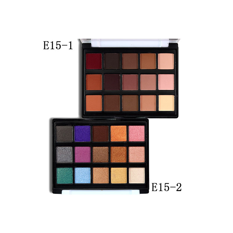 15 color eyeshadow pallette glitter cosmetics beauty glitter women make up shimmer pigment natural