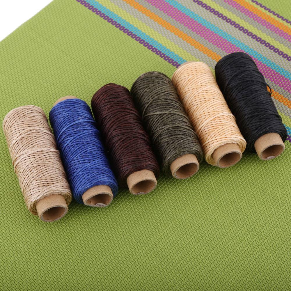Hand Stitching Thread Waxed Sewing Machine Industrial Thread For Leather Shoe Hand Stitching Handicraft Tool