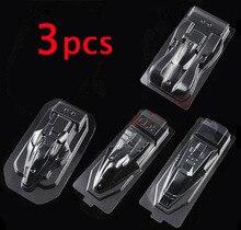 3 Pcs Self Made Tamiya 4WD RC Car Transparent Shell Soft Cover Housing 19601/2/19603/19604/19605/19607/19608/19609/19610