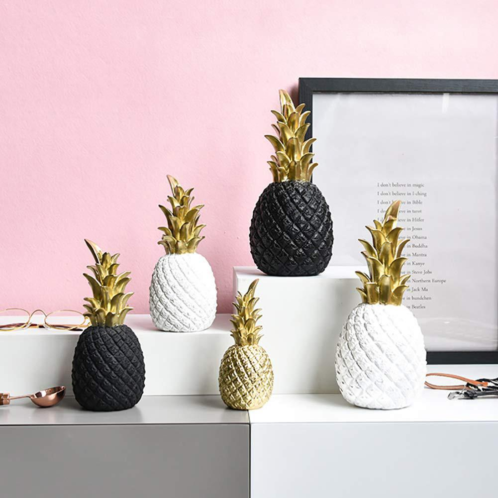 Nordic Figurine Pineapple Ornament Table Crafts DIY Ornament Decoration Crafts Figurines Micro Landscape Home Decoration Gifts