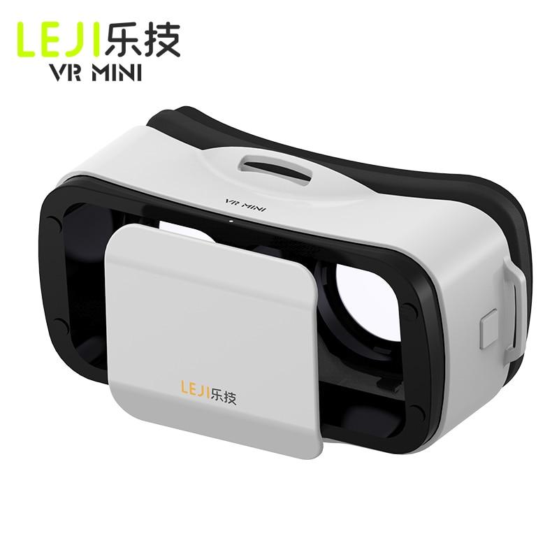 NEW BOX III 3 LEJIVR Mini Headmount VR Virtual Reality Glasses 3D Game Movie for Plus se - Immersive google cardboard oculus