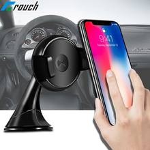 For Samsung S6 S7 Note5 S8 edge Note 8 Charging Phone Charging Car Mount Holder Qi Wireless Charger receiver for iPhone 8 X Plus(China)