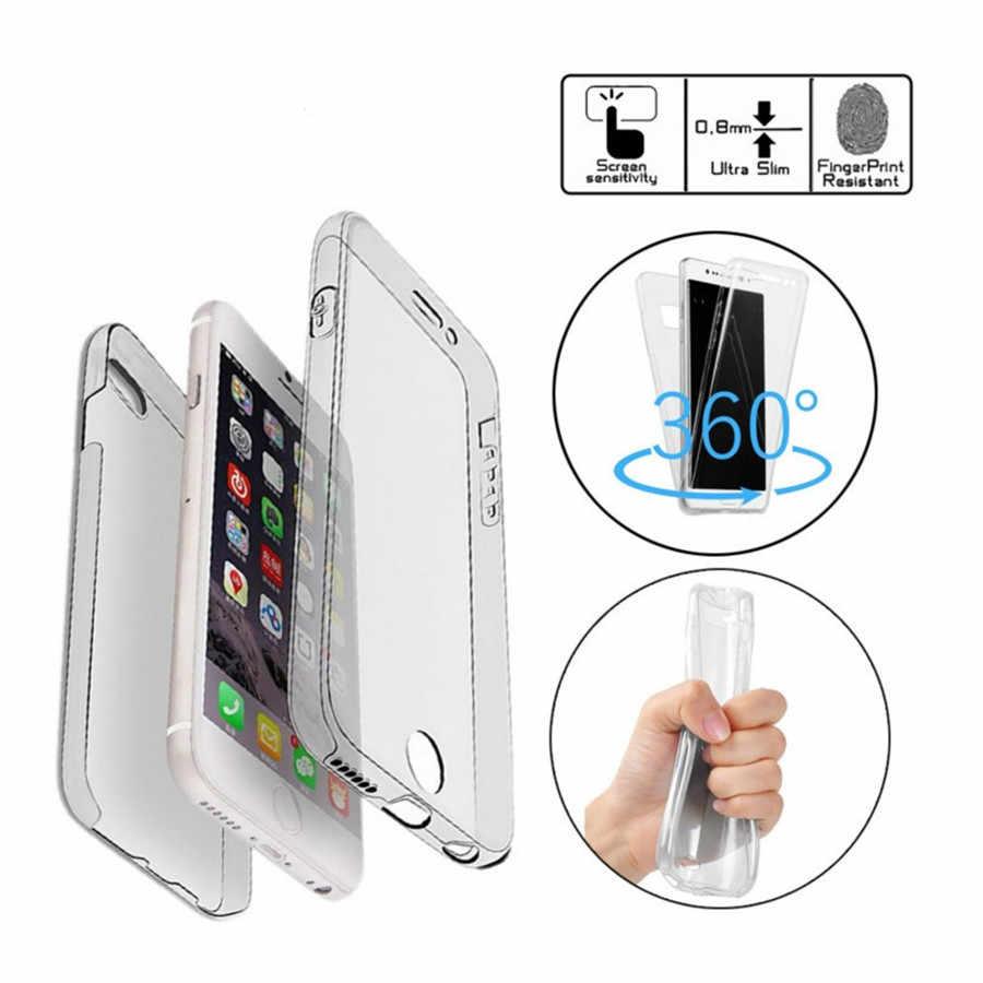 Honor 8 Lite Nova 2i 3E Case 360 for Huawei Mate 10 Lite P20 Pro P8 P9 P10 Lite Plus 2017 Case Cover Full Protective TPU Silicon