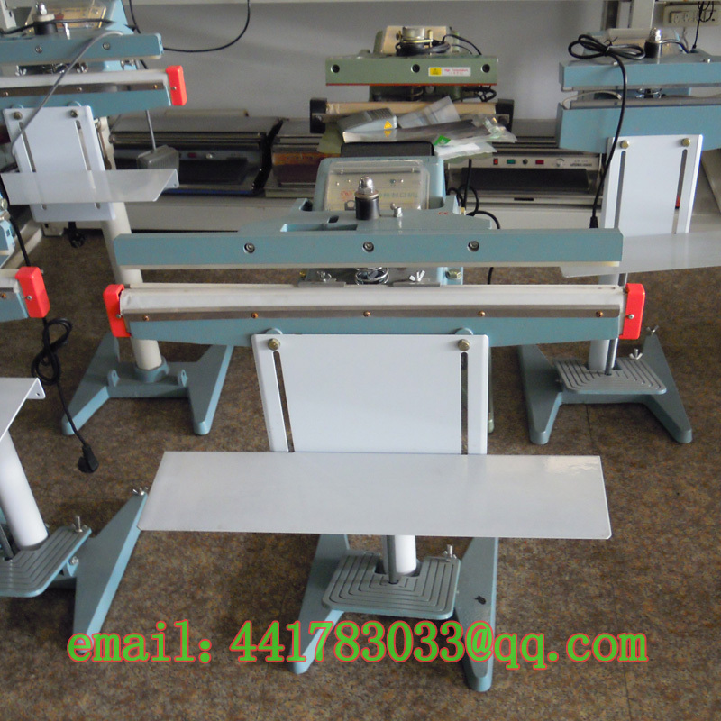 PSF 351 * 1 aluminum frame foot sealing machine Foil bag sealing ...