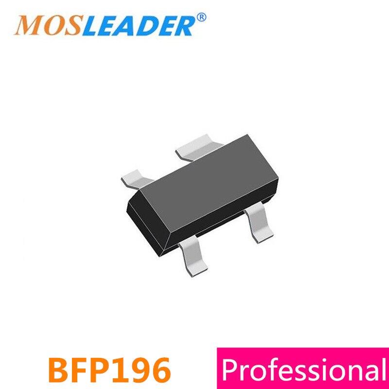 SMD BFP196 SOT143 300PCS 500PCS NPN 12V 100mA 0.1A High quality недорого