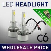 LED Headlight Car V16 9005 HB3 9006 HB4 H1 H4 Hi Lo H8 H11 30W 3600LM