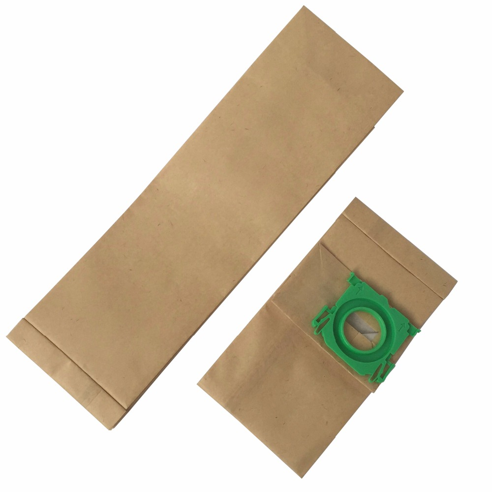 Free shipping 20 Pack Clean Fairy vacuum cleaner bag fits to BORK V701 V702 V705 3 Ply paper dust bag 290mm long-in Vacuum Cleaner Parts from Home Appliances