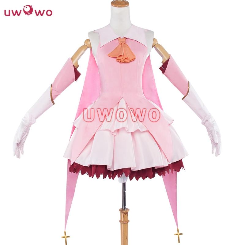 UWOWO Illyasviel Von Einzbern Cosplay Fate Kaleid Liner Magical Girl Kawaii Mahou Shojo Women Costume Fate Cosplay  Illyasviel