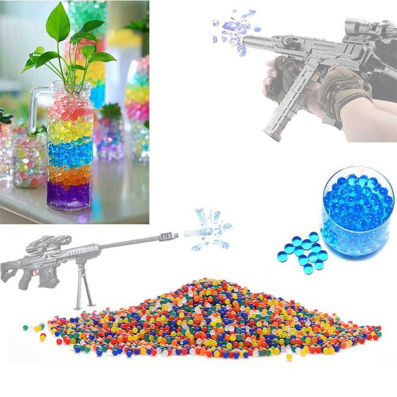 200 Uds perla de colores bola de Gel polímero hidrogel cristal barro tierra agua cuentas crece jalea mágica boda fiesta en casa planta en maceta
