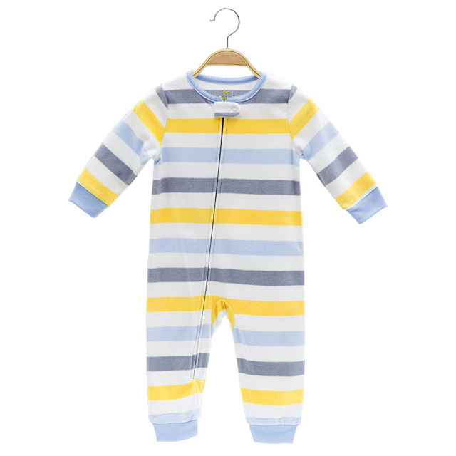 2019 Baby clothes bebes jumpsuit collar fleece newborn pajamas infants baby boys clothes toddler boys clothes coveralls outwear 2