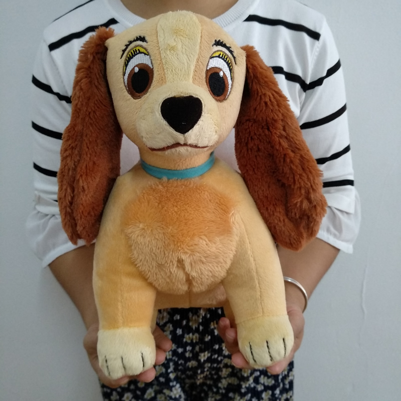 Original Lady and the Tramp Plush Toy – Sitting Lady Dog Stuffed Animals | 30cm 11.8 inches