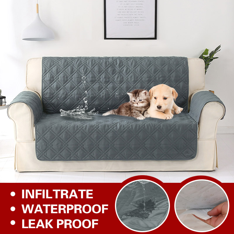 100 Waterproof Sofa Cover For Dogs Cat Pets Kids Armchair