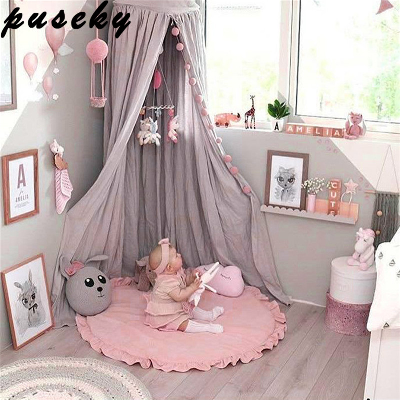 Puseky Baby Game Mat Princess Lace Girl Kid Crawling Carpet Play Mat Baby Bedding Blanket Childrens Room Decoration Floor Carpet leweihuan new cartoon baby game mat boys girls crawling carpet play mat kids toys organizer bag room decoration floor carpet