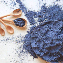 Органическая голубая бабочка горох цветок порошок для натуральный пищевой краситель для торта, печенья, пищевой краситель голубой матча