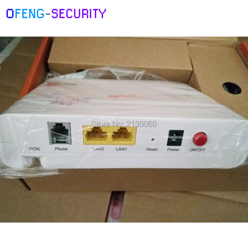 Factory Sale ZXHN F407 ZTE EPON ONU 2 Ethernet Ports+1 Telephone Pot