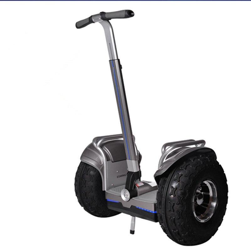 Green power samrt black Self balancing 2400w electric scooter 2018