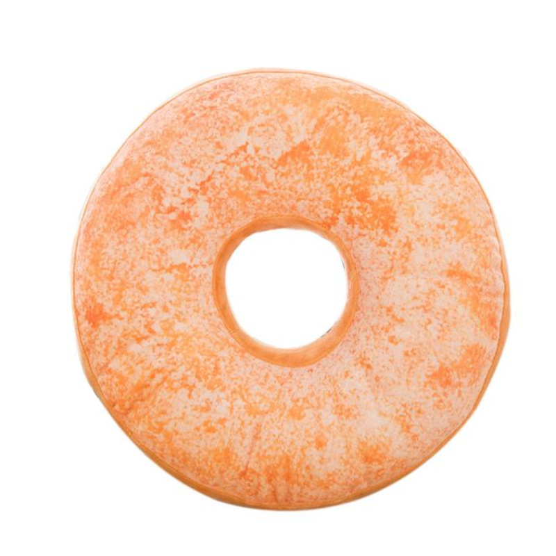 Attirant New Style Doughnut Shaped Ring Plush Soft Novelty Cushion Pillow Colorful  Donut Pizza Cushion For Chair Cojines Seat Accessory In Cushion From Home U0026  Garden ...