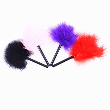 bdsm fetish Feather whip Sex Products Tickler Naughty Spanking Paddle Slave Role-play Flirting Toy Adult Games foreplay