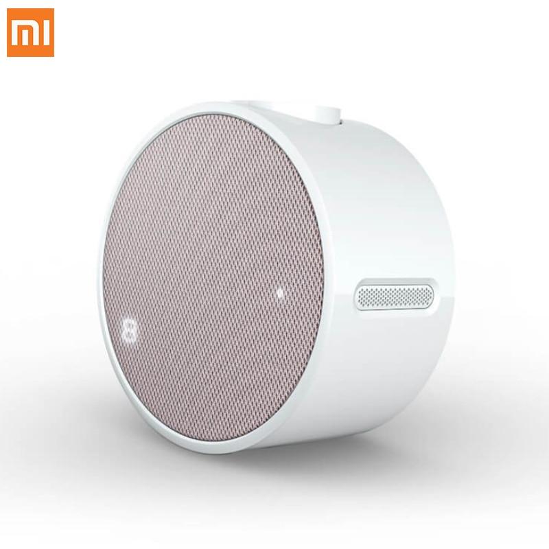 Newest Original Xiaomi Mi Portable Mini Alarm Clock Speaker Bluetooth 4 1 Music Xiaomi Alarm Clock